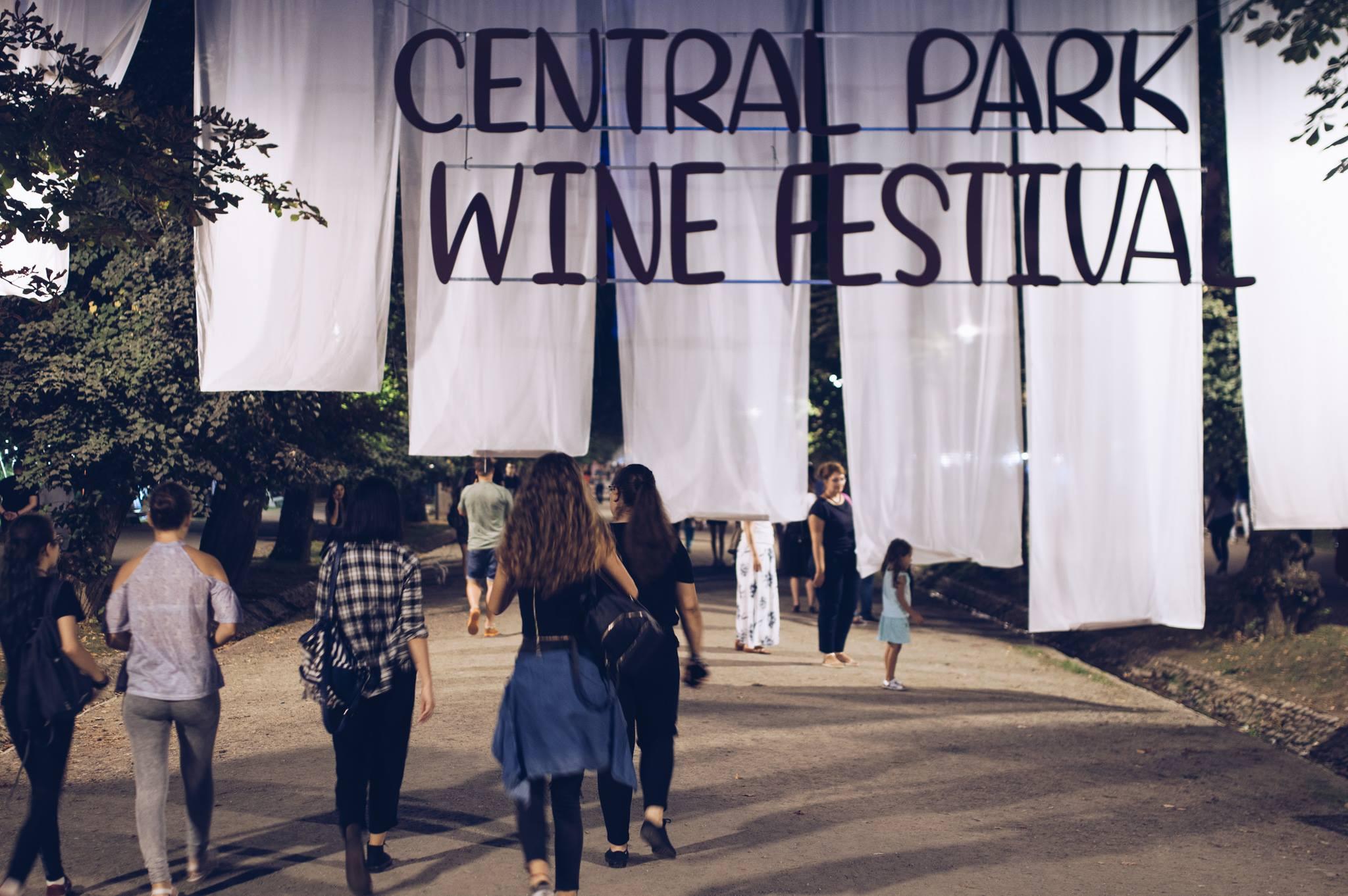 Central Park Wine Festival își deschide porțile
