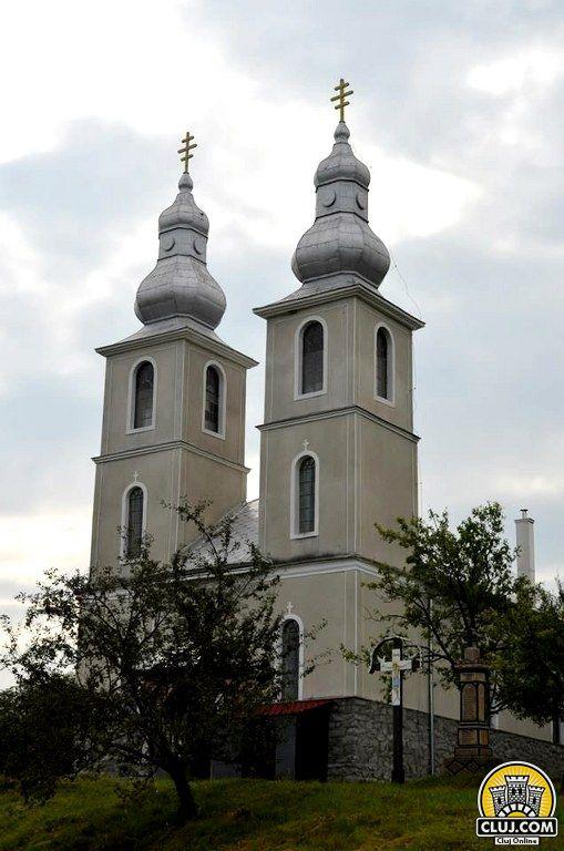 satul calatele, judetul cluj, comuna calatele,  biserica ortodoxa