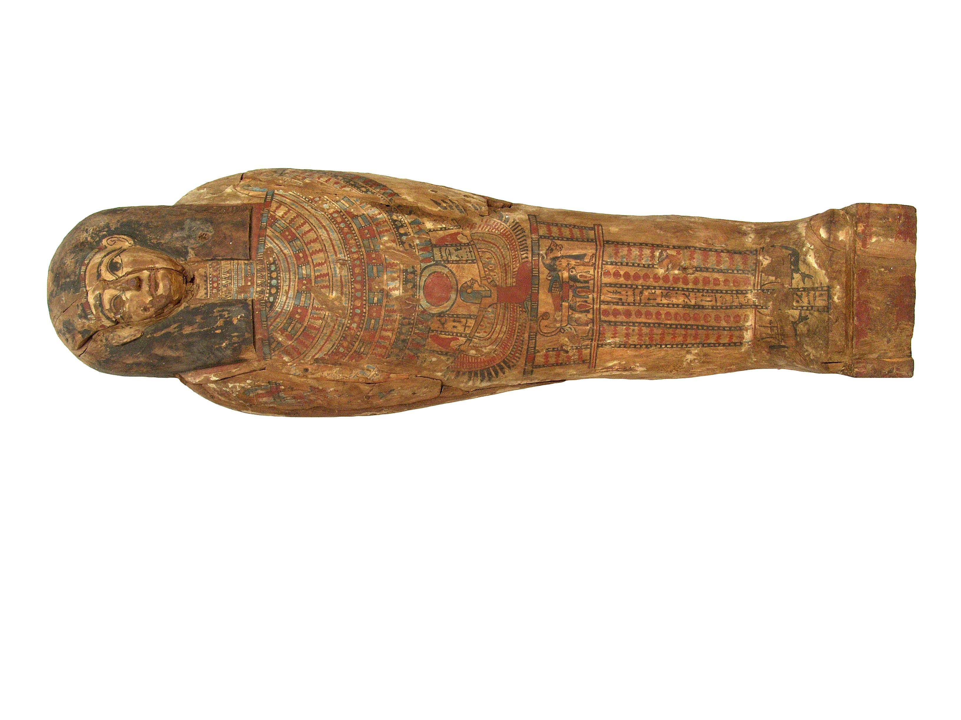 sarcofag cu mumie MNIT