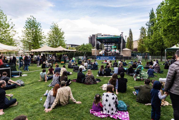 scenele jazz in the park iulius parc (2)