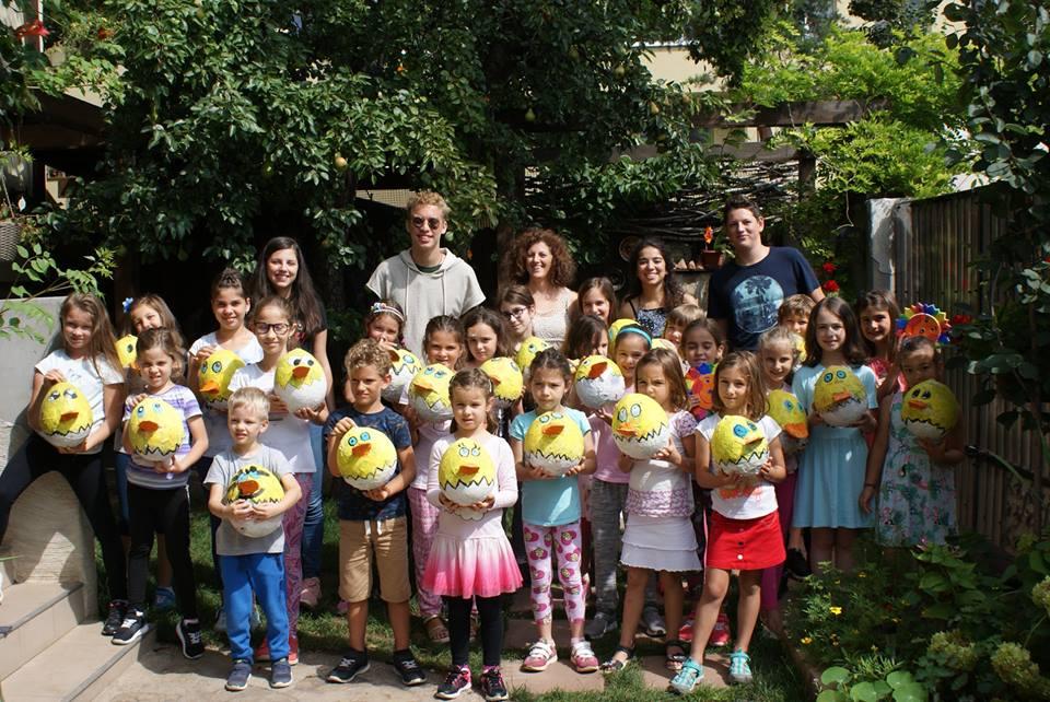 Școala de vară pentru copii la Atelier Pastel (5-14 ani)
