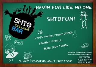 Shto College Bar, Cluj-Napoca