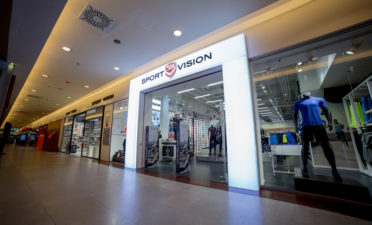 The first SPORT VISION store in northwestern Romania at Iulius Mall Cluj