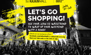 Going to Electric Castle? Enjoy the promotions in Iulius Mall's stores