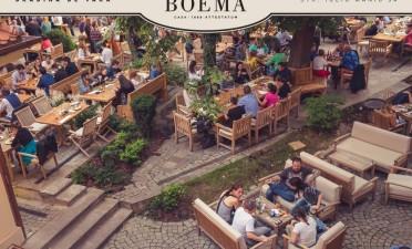 Gradina Boema – Restaurant, Terrace