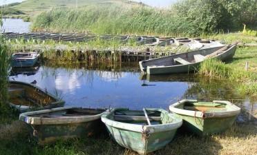 Stiucii Lake in Sacalaia