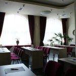 La salle de conférence de l'Hôtel Granata