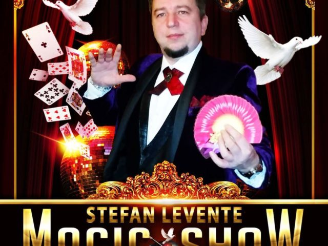 Stefan Magic Show Magician Cluj