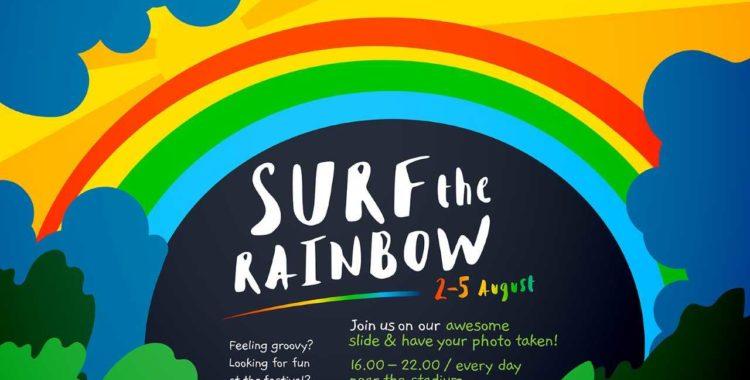surf the rainbow iulius mall