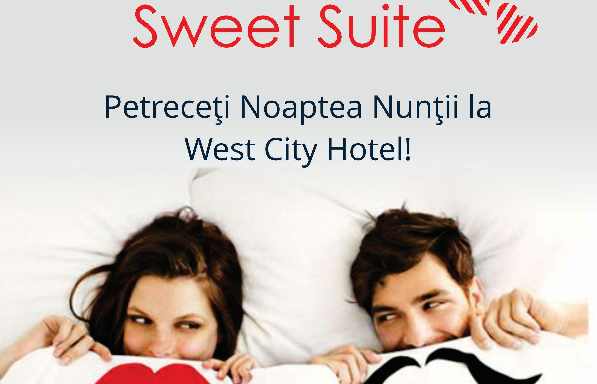 Petreceți noaptea nunții gratuit la West City Hotel!