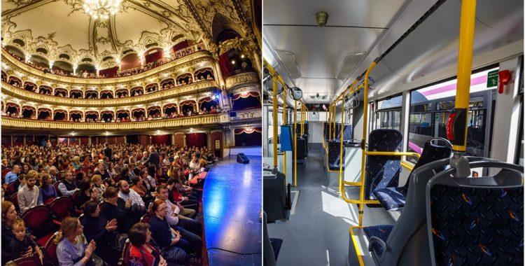 teatru in autobus cluj