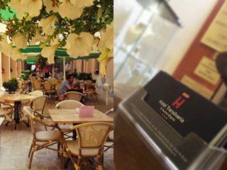 Terasa-restaurant hotel Transilvania: unde ieșim cu familia după absolvire?