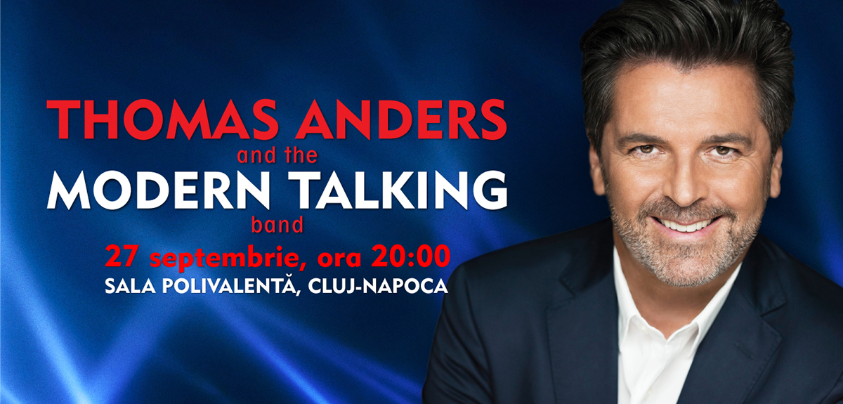 Concert Thomas Anders and the Modern Talking band