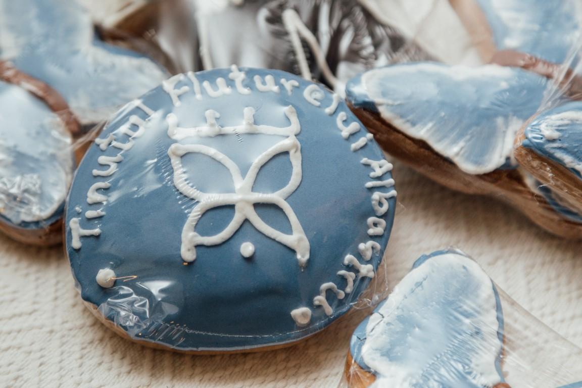 tinutul fluturelui albastru