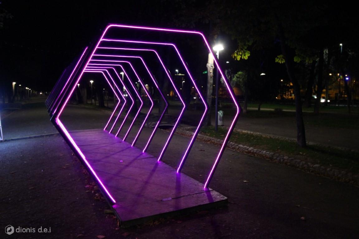 tunelul lights on romania 2019