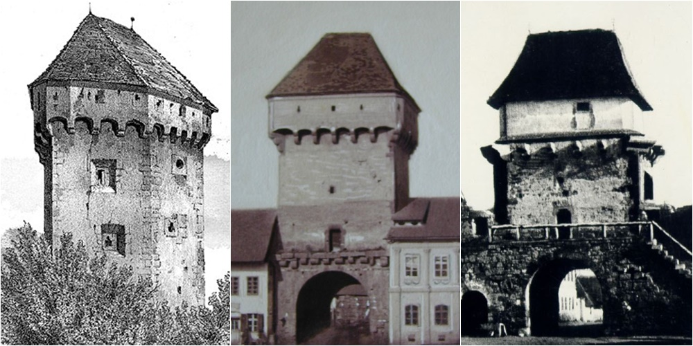 turnuri si bastioane in cluj vechi