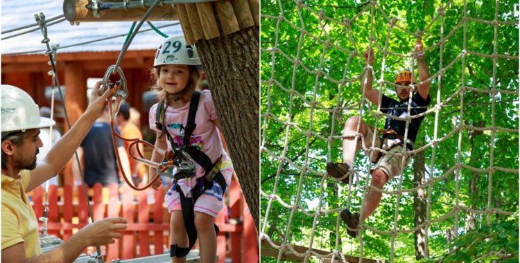 zile de vară la adrenalin park OK