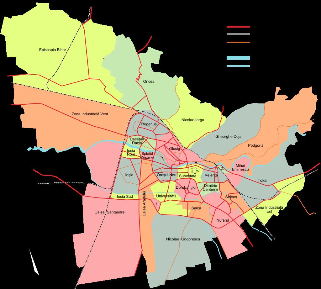 Cartiere din Oradea Calea Sântandrei