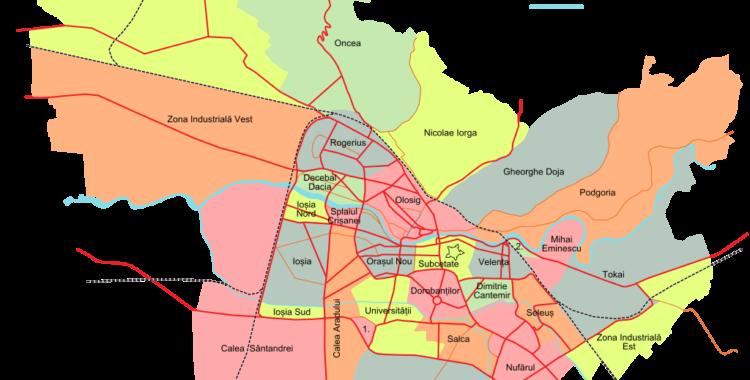 Cartiere din Oradea Cartierul Calea Sântandrei