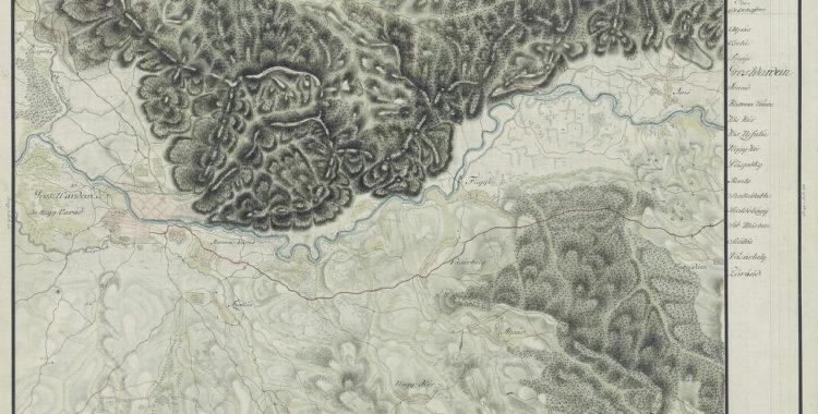 Cartierul Velența în harta Iosefină Oradea