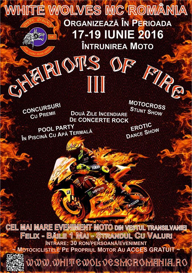 Chariots Of Fire, ediția a III-a, Băile 1 Mai