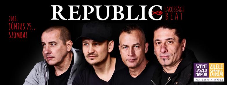 Concert Republic în Cetatea din Oradea 2016