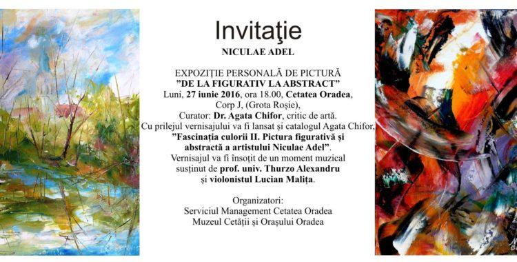 De la figurativ la abstract - expoziție în Cetatea Oradea