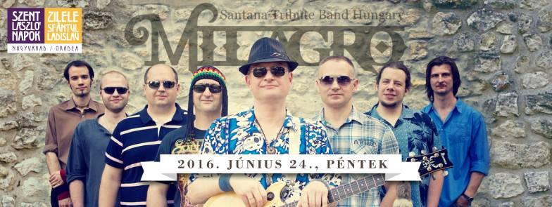 Milagro Santana Tribute Band la Cetatea din Oradea, 2016