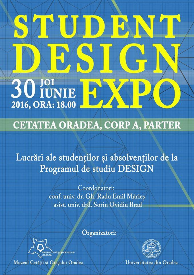 Student Design Expo Oradea 2016