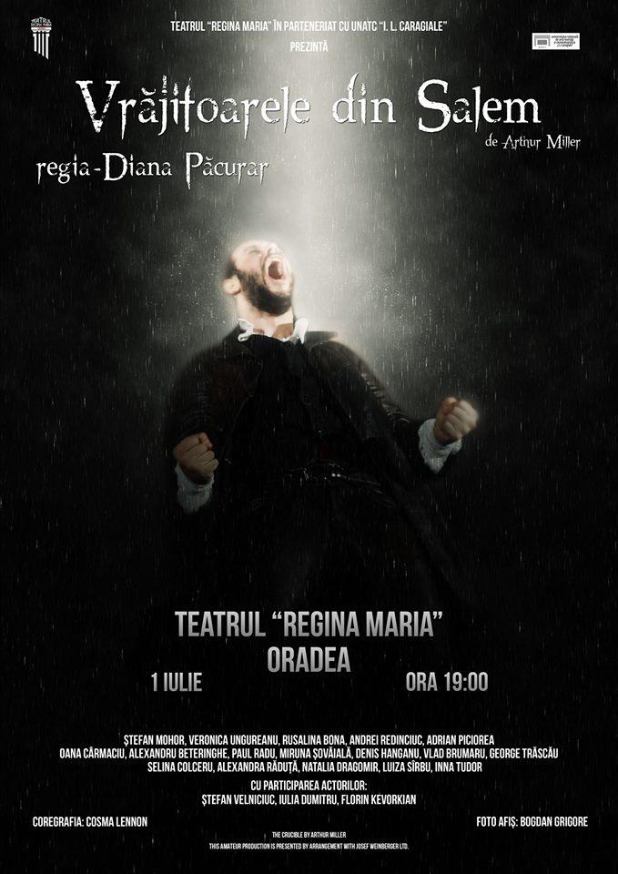 Vrăjitoarele din Salem - Teatrul Regina Maria Oradea