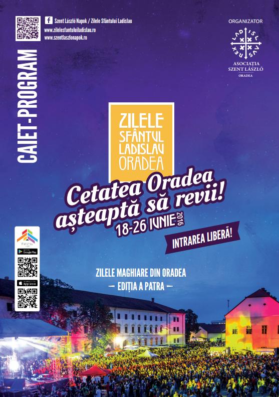 Zilele Sfântului Ladislau - sâmbătă, 25 iunie 2016