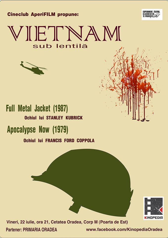 AperiFILM - Vietnam sub lentilă, Cetatea din Oradea