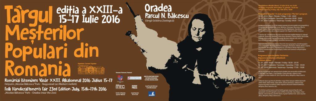 Targul mesterilor populari, editia a XXIII-a, Oradea2016