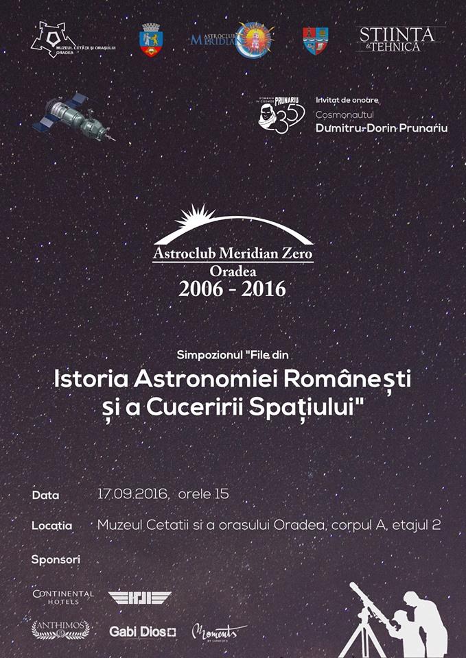 Astroclub Meridian 0 - 10 ani, Cetatea Oradea