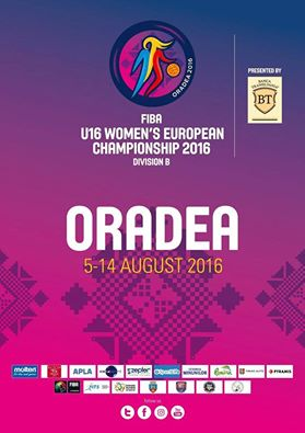 Campionatul European U16 feminin - Divizia B, Arena Antonio Alexe Oradea