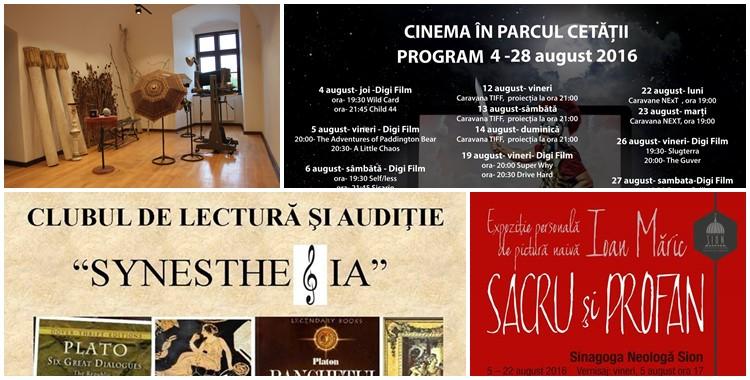 Ce poți face în săptămâna 8 – 14 august? - Ghid Local Oradea