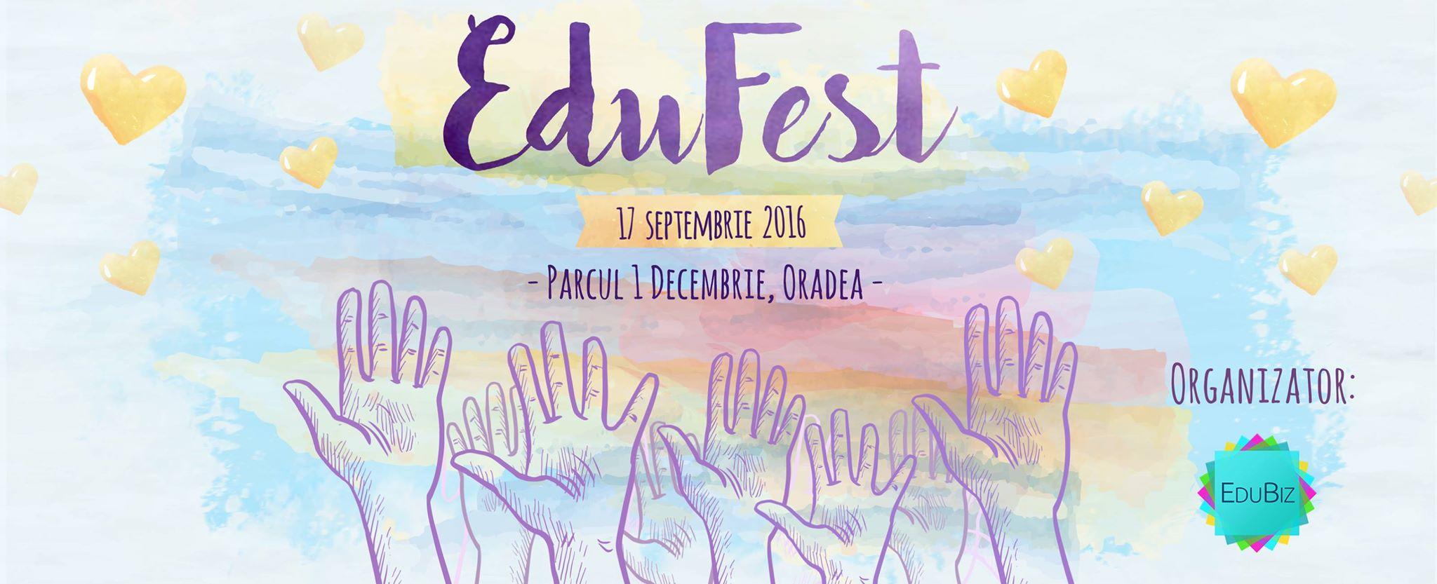Voluntariat la EduFest, Parcul 1 Decembrie Oradea