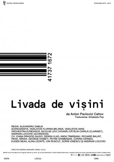 Livada de vișini, Cehov, Teatrul Regina Maria Oradea