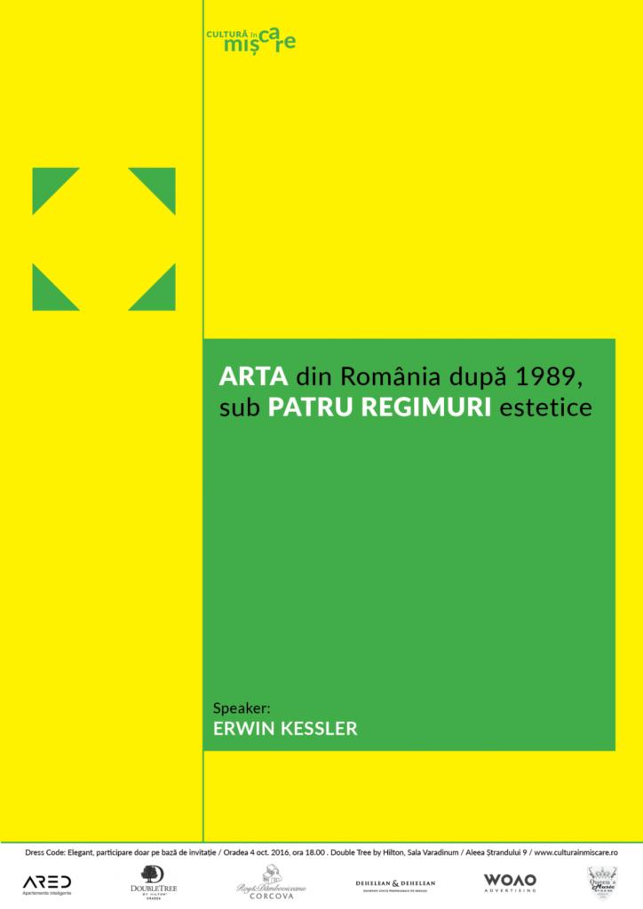 Arta din România după 1989, sub patru regimuri estetice