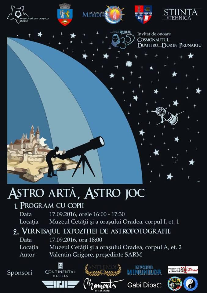 Astro Joc, Artă și Observații, Cetatea Oradea