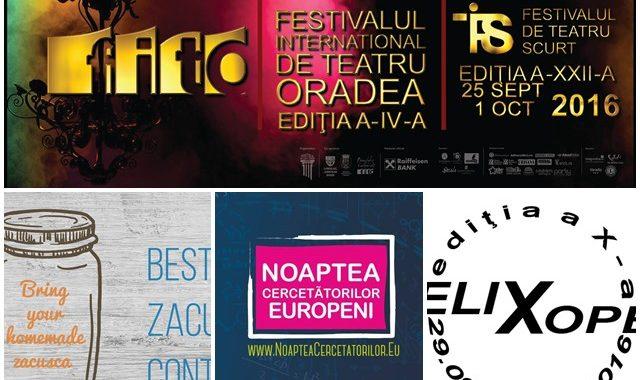 Ce poți face în săptămâna 26 septembrie – 2 octombrie? - Ghid Local Oradea