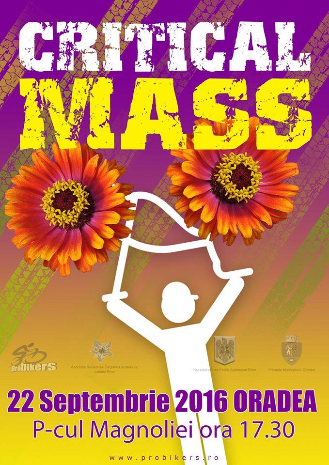 Critical Mass septembrie 2016