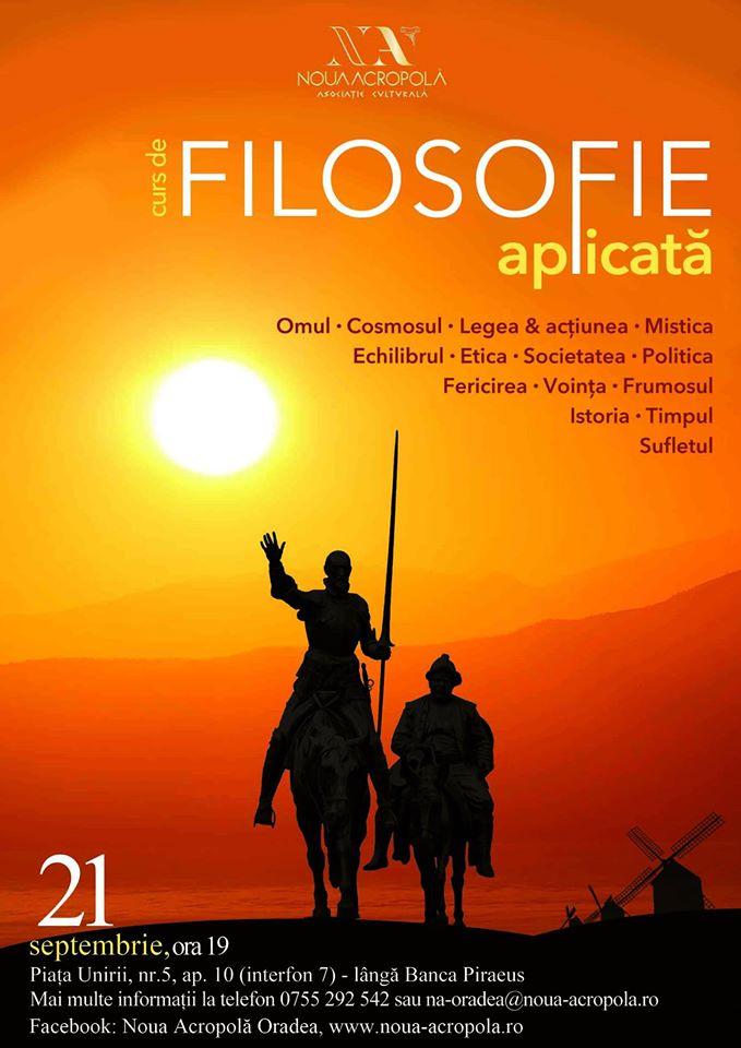 Filosofie aplicată - curs, Asociația culturală Noua Acropolă