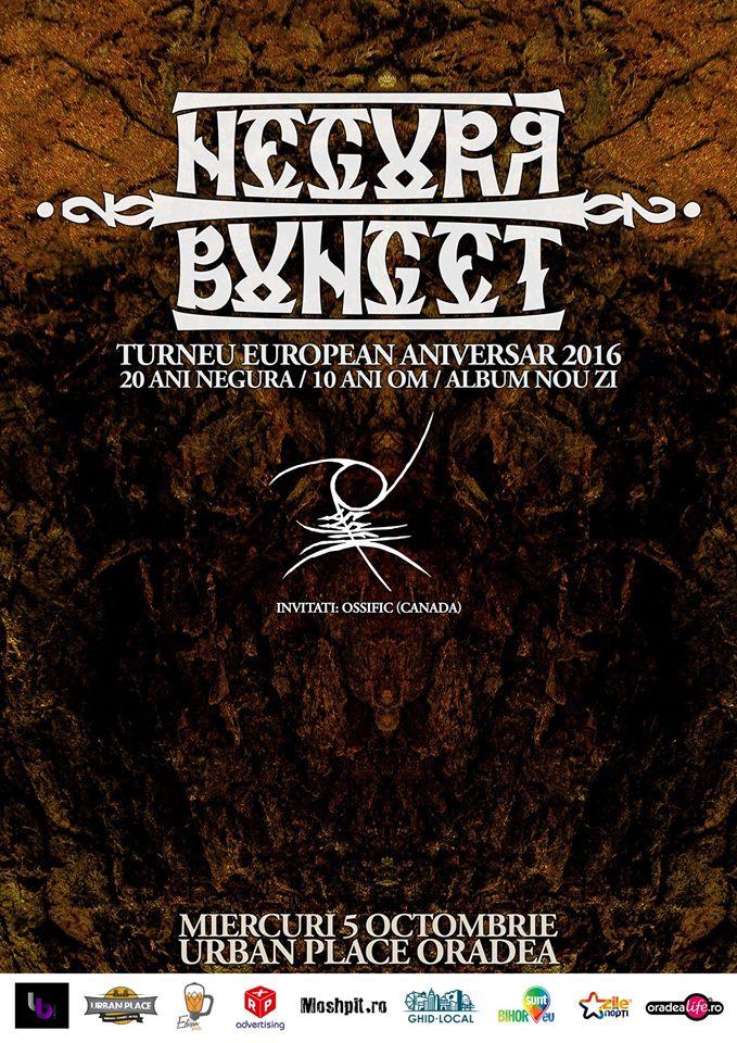 Concert Negură Bunget, Urban Place Oradea