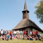 Peste o sută de bicicliști pe Drumul Bisericilor de lemn