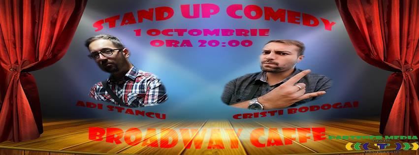 STAND UP Comedy cu Adi Stancu & Cristi Bodogai