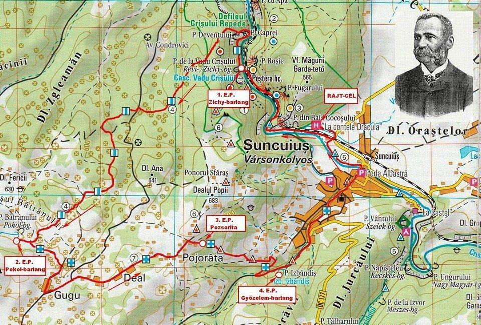 Traseu 20 km - Pe urmele lui Iuliu Czaran