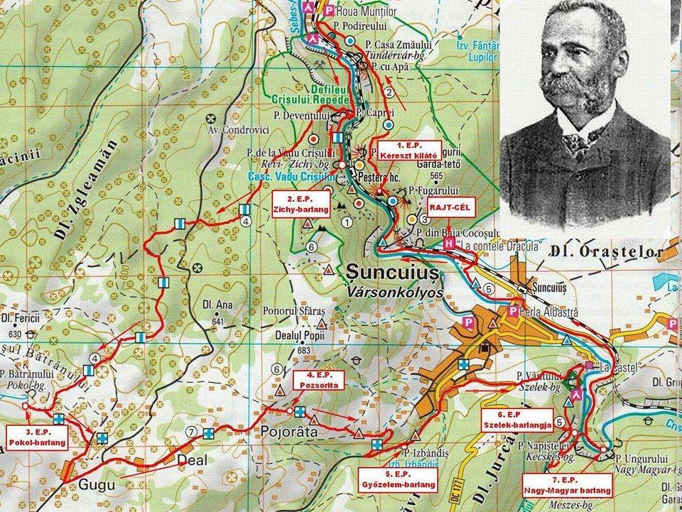 Traseu 30 km - Pe urmele lui Iuliu Czaran