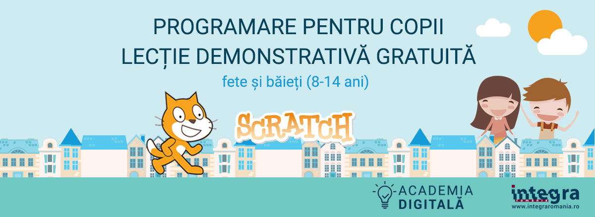 Lecție gratuită - programare pentru copii