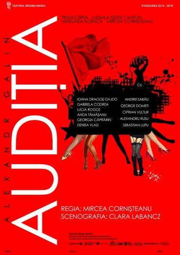 Audiția, Trupa Iosif Vulcan Oradea, Teatul Regina Maria